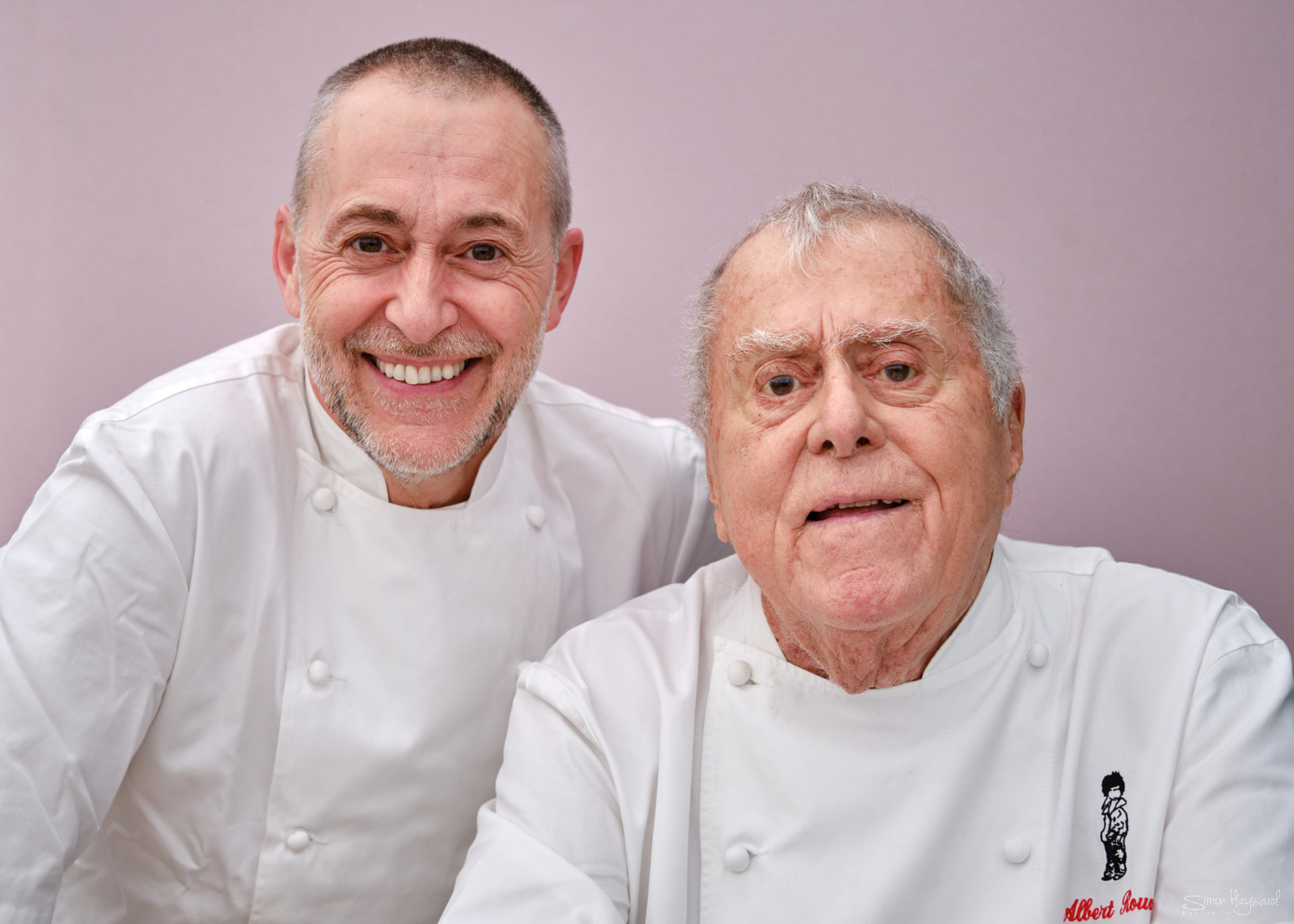 Albert and Michel Roux